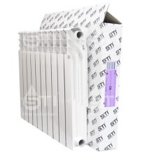Биметаллический радиатор STI 500 100 10 секций