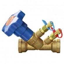 Клапан балансировочный резьбовой VIR 9505, DN15, PN25, Латунь, t - 130°C