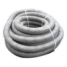 Труба дренажная гофр. однослойная ПНД 110/93 (черная) с фильтром
