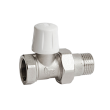 Клапан запорный для радиатора никель Ру10 ВР прямой Ogint в Пензе за 212,87 руб. : характеристики, фото
