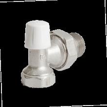 Клапан запорный для радиатора никель Ру10 ВР угловой Ogint в Пензе за 197,53 руб. : характеристики, фото