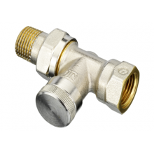 Клапан запорный для радиатора RLV никель Ру10 ВР прямой Danfoss в Пензе за 933,73 руб. : характеристики, фото