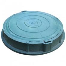 Люк полимер зелёный (легкий) круглый в Пензе за 1 154,75 руб. : характеристики, фото