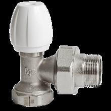 Клапан ручной регулировки никель Ру10 ВР угловой Ogint в Пензе за 240,37 руб. : характеристики, фото