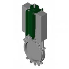 Задвижка шиберная нерж односторонняя межфл VG6400-04EP Tecofi в Пензе за 37 801,18 руб. : характеристики, фото
